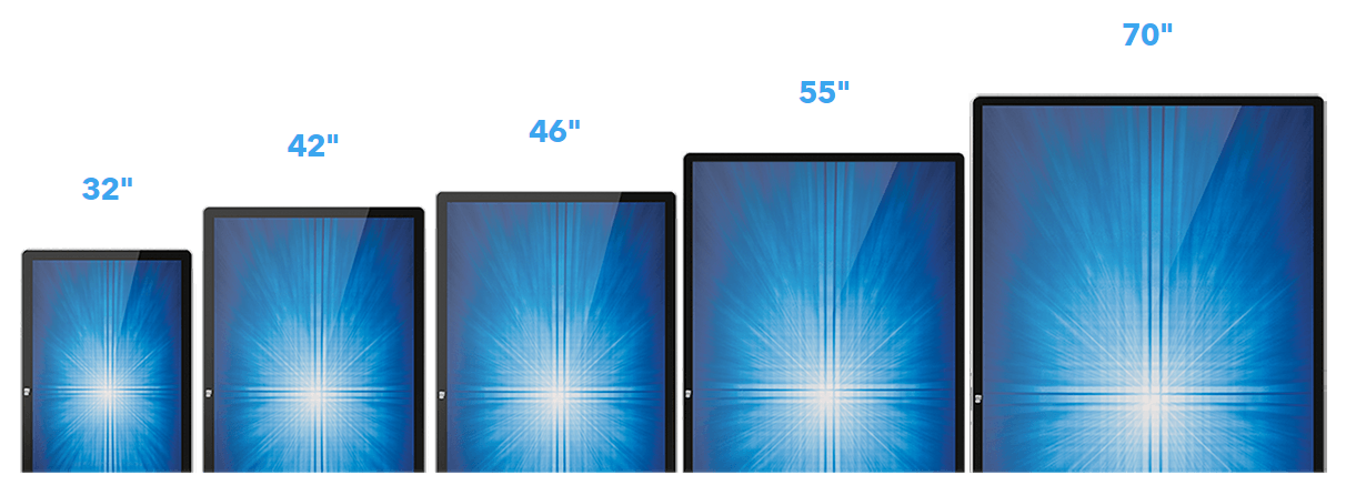 Touch Screen Sizes