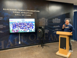Cal State Fullerton Sports Hall of Fame Display